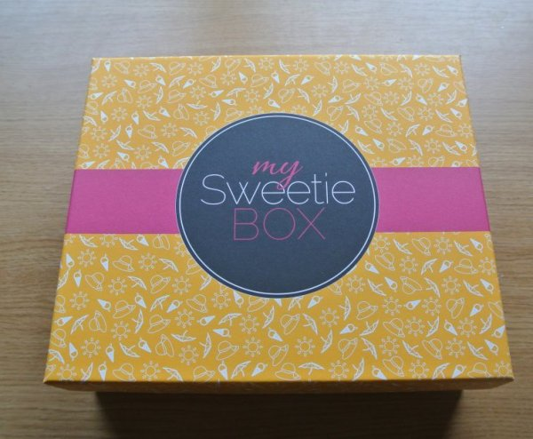 MY SWEETIE BOX mois d'aout